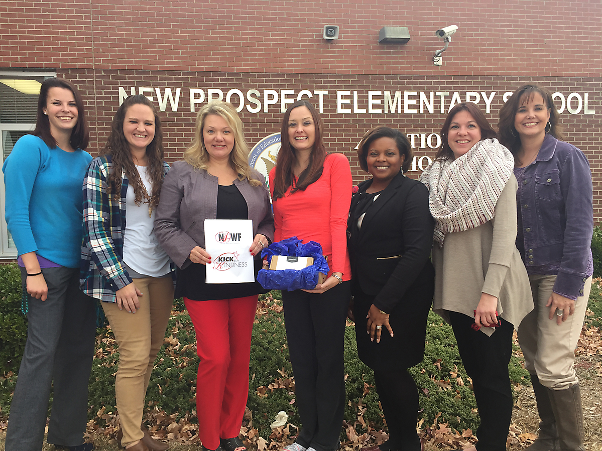 2016 K4K Video Contest Winner - Kellianne Floyd New Prospect Elementary Olweus Anti-Bullying Kick Off