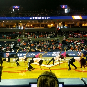 Dancing for a Cause_Breast Cancer 2017 AwarenessUVA Halftime Dance - Charlottesville