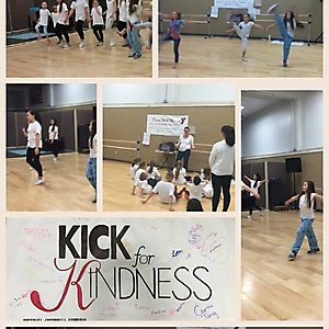 2015 Heather B - Dance With Me at the Y celebrated kick for kindness during Arts Week at the Y 2015