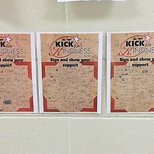 2015 Kellianne Floyd - 2nd and 3rd grade students to pledge in support of #kickforkindness